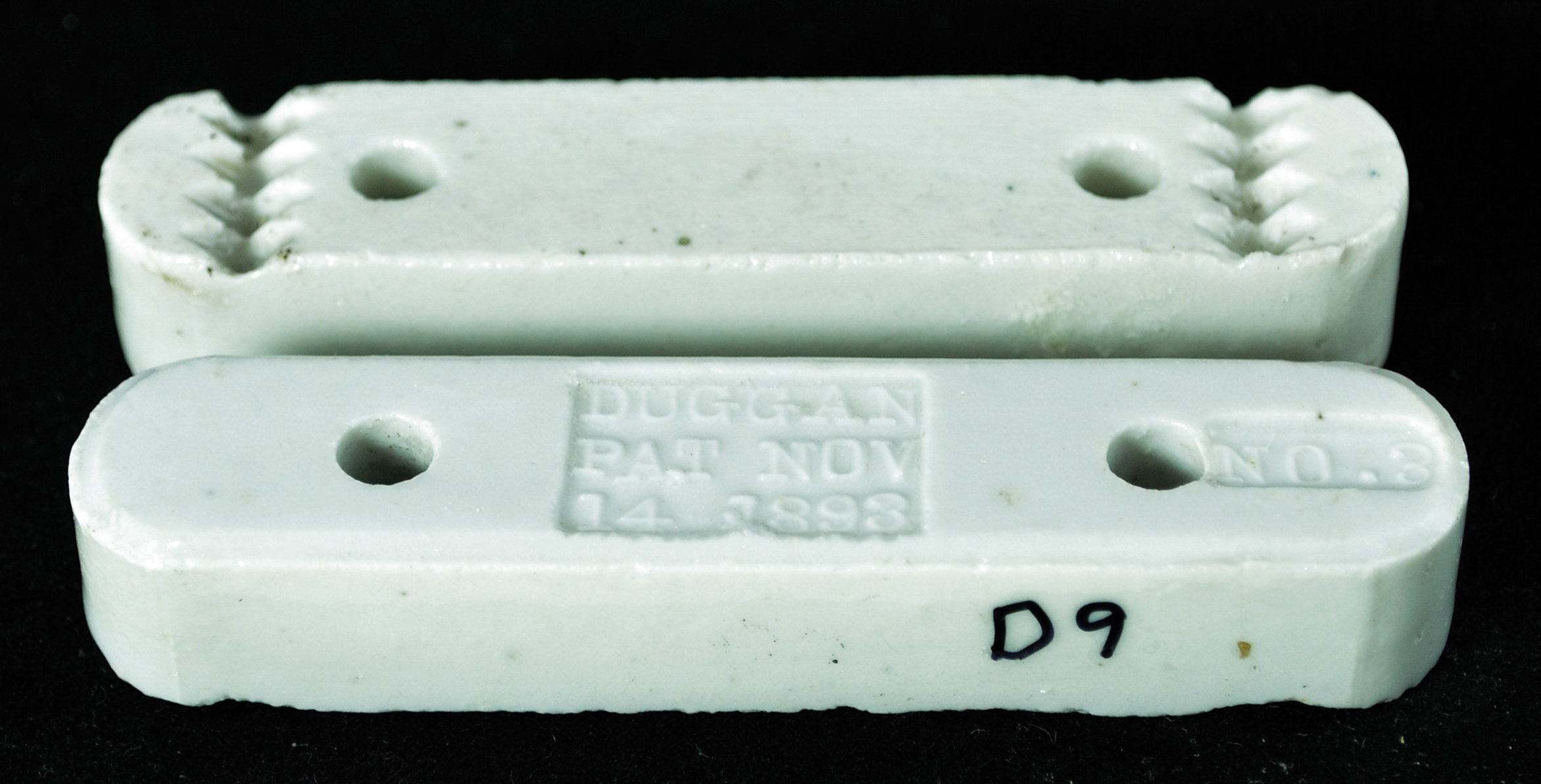 Porcelain Cleats for House Wiring - History
